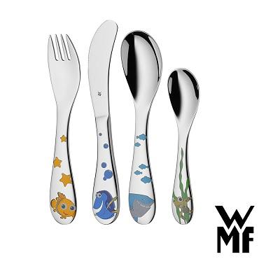 WMF海底總動員尼莫兒童餐具4件套組
