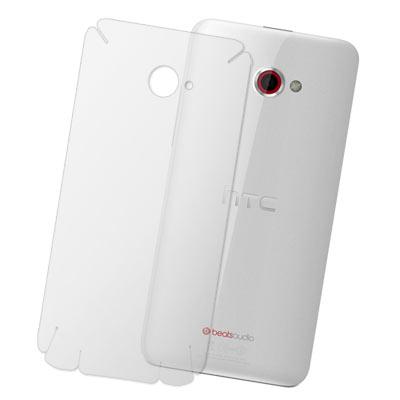 HTC Butterfly s 超透超顯影機身背膜(2入)