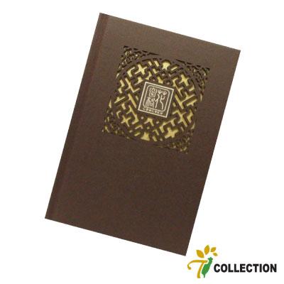 精雕花窗格-桃花開的時候 筆記本 T-Collection CONCHEN Design