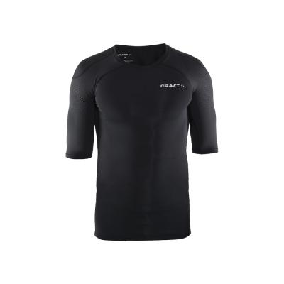 CRAFT DELTA男款運動壓縮短袖上衣 黑色