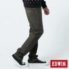 EDWIN 大尺碼AB褲 503JERSEYS迦績色褲-男-橄欖綠