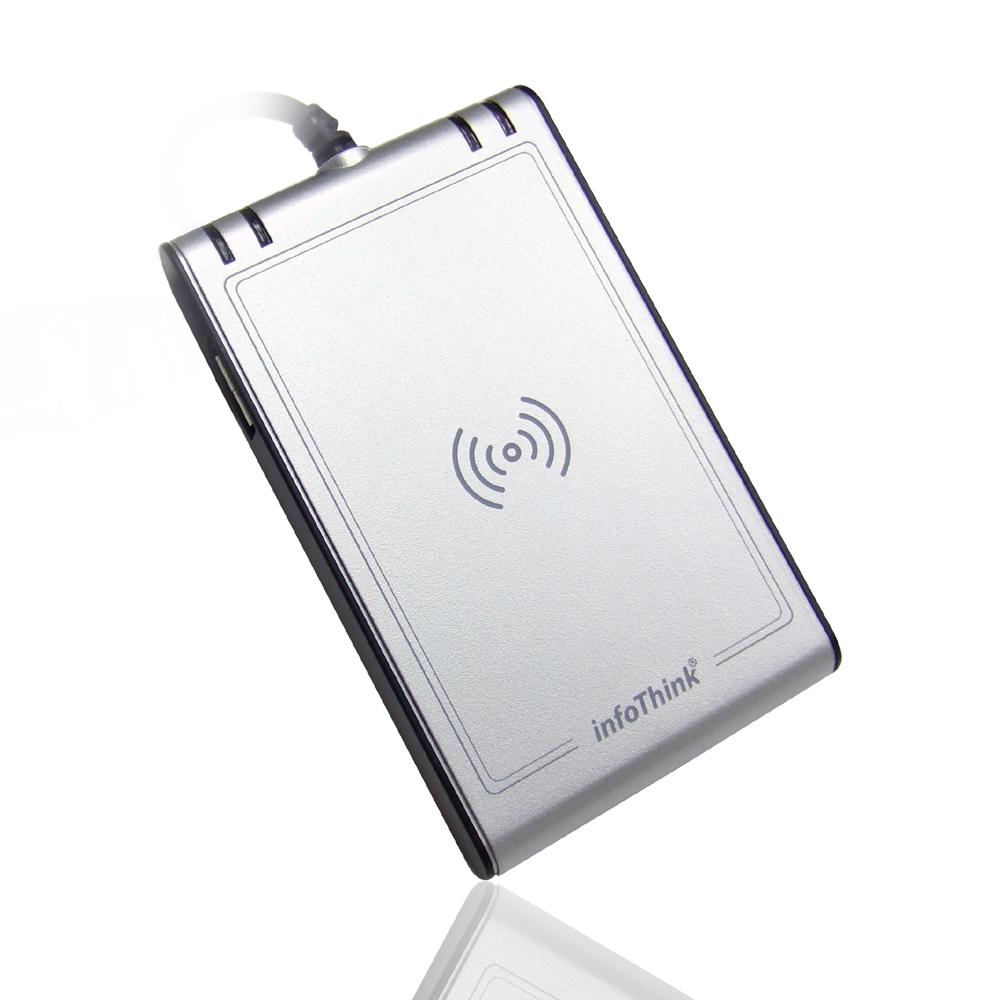 InfoThink 晶片卡/感應卡NFC雙介面讀卡機