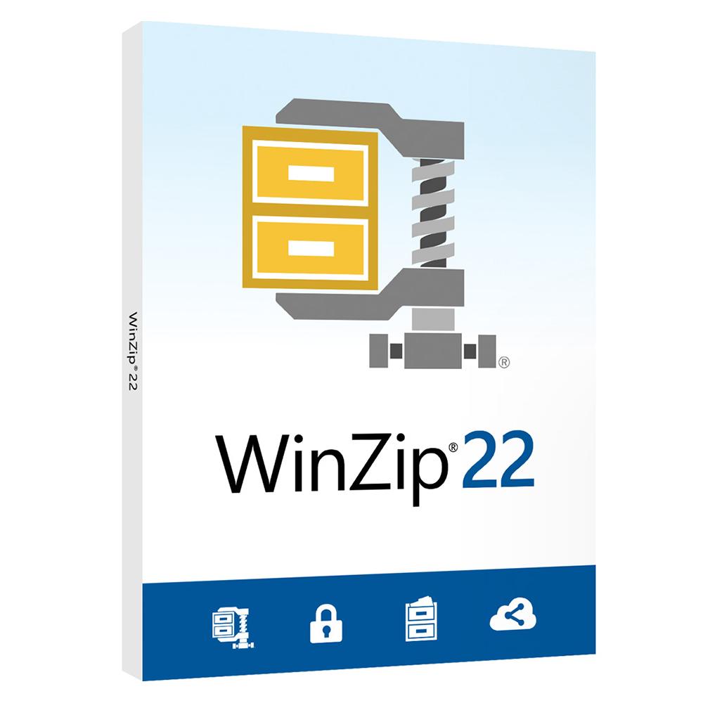 WinZip STD 22 標準版盒裝(中/英)