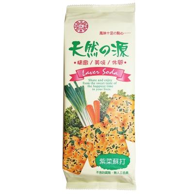 正益 天然之源紫菜蘇打餅乾(160g)