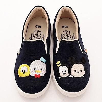迪士尼童鞋 米奇不對稱休閒鞋款 FO18354 深藍 (中小童段)