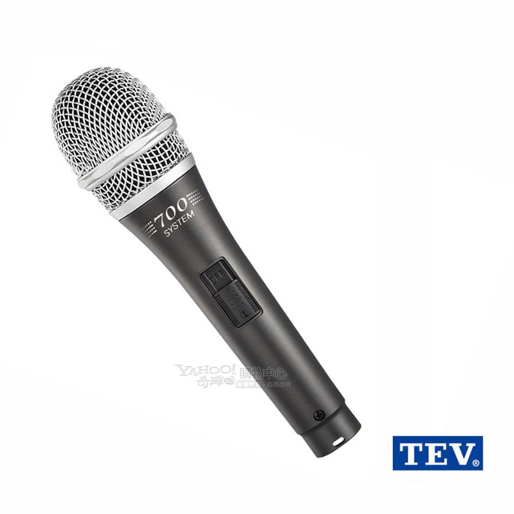 台灣電音TEV TM-700 專業動圈式有線麥克風