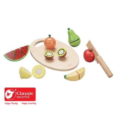 Classic World 德國經典木玩 水果切切