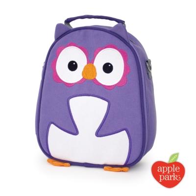 【美國 Apple Park】造型保溫餐袋 - 紫色貓頭鷹