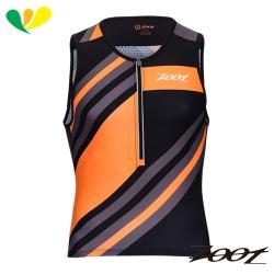 ZOOT 頂級碳離子鐵人上衣(男)(彩紋橘) Z1706015