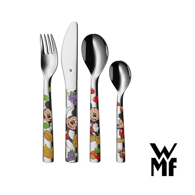 WMF迪士尼米奇兒童餐具4件套組