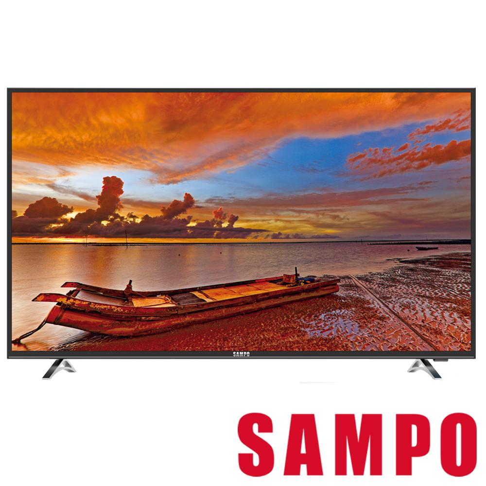 福利品SAMPO聲寶43吋Smart聯網LED液晶顯示器EM-43QT30D