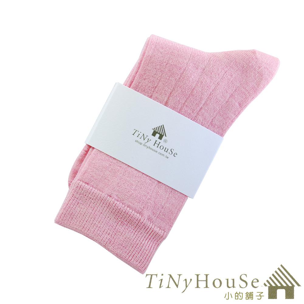 TiNyHouSe超細輕薄(1雙)保暖羊毛襪(粉色M)-中統輕薄款