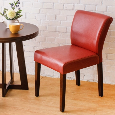 Boden-托比簡約實木餐椅/單椅(紅色)-42x58x78cm