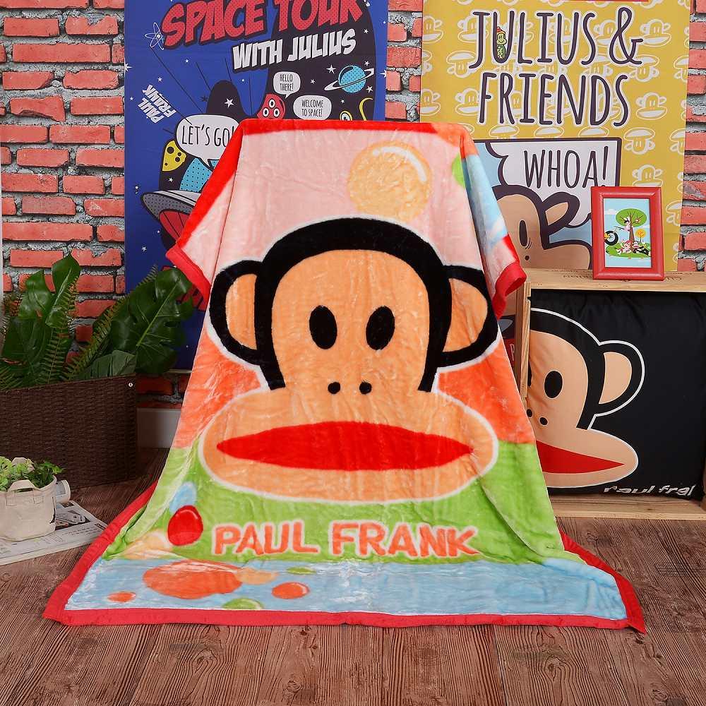 Paul Frank 汽泡輕盈 頂級加厚法蘭絨休閒毯