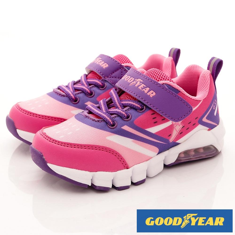 GOODYEAR戶外童鞋 繽紛緩震系列 EI8202粉(中小童段)