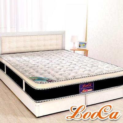 LooCa-護背4cm乳膠硬式獨立筒床墊-單人3-5尺