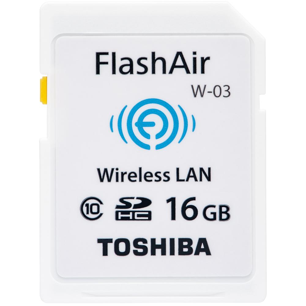 Toshiba 16GB FlashAir SDHC Card W-03