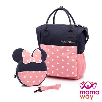 媽媽包 防走失包 迪士尼造型防走失二合一包(共二色) Mamaway
