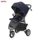 Aprica 嬰兒手推車 SMOOOVE Premium 大三輪系列 藍
