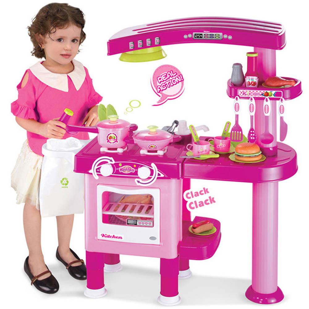 家家酒系列玩具粉紅廚具流理台008-82