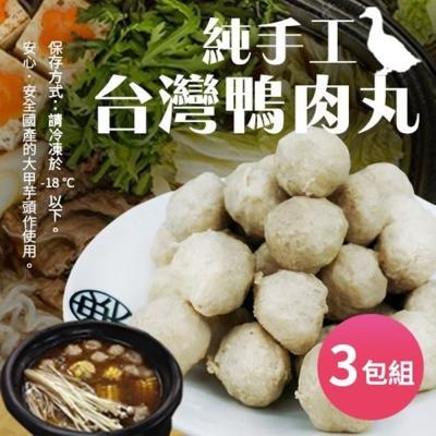 海陸管家-陳家鴨肉丸 x3包(每包300g±10%/盒/33-36顆)