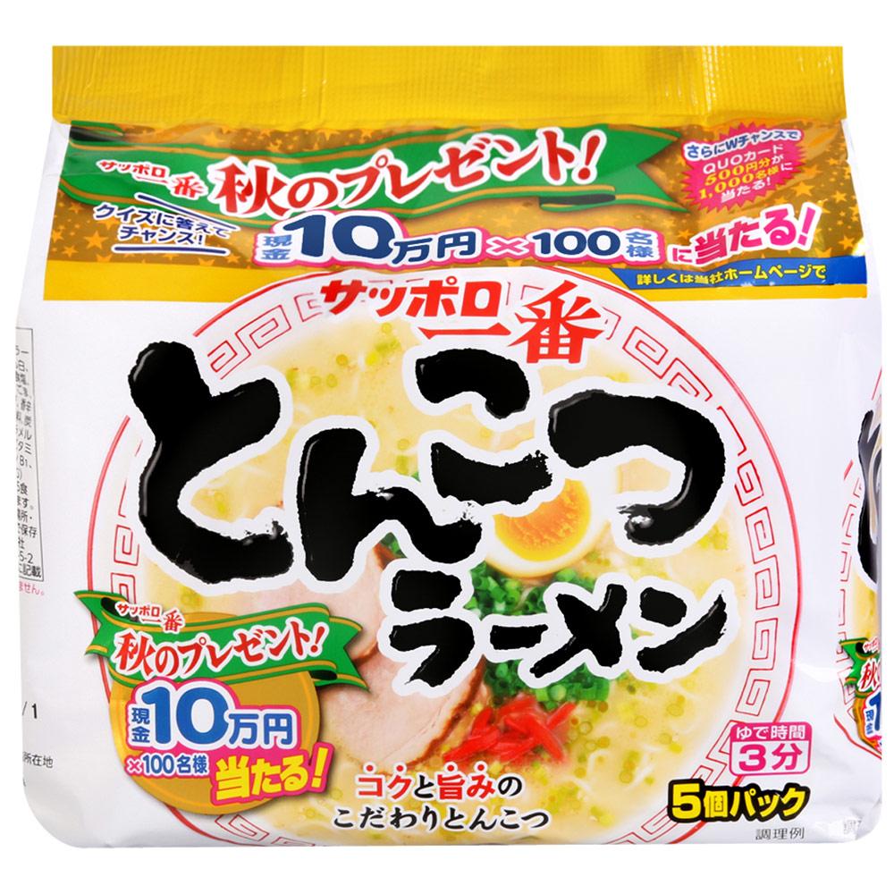 大平 三洋5入包麵-豬骨風味(530g)