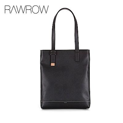 RAWROW-紳士系列-兩用可調式托特包(肩背/手提)-黑-RTO191BK