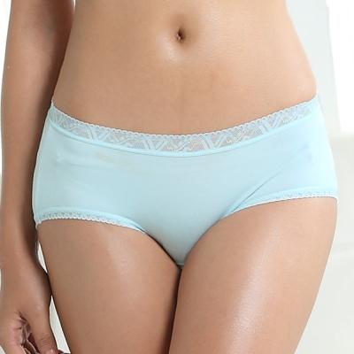 AJM 木代爾 素色細膩低腰平口內褲(隨機色出貨)