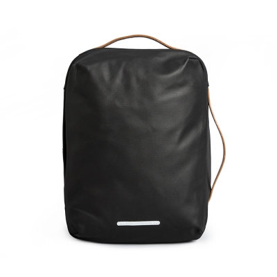 RAWROW-帆布系列-13吋三用經典後背包(後背/手提/肩背)-墨黑-RBP270BK