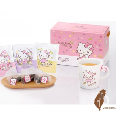 沐月 Hello kitty 茶葉禮盒-綜合花草