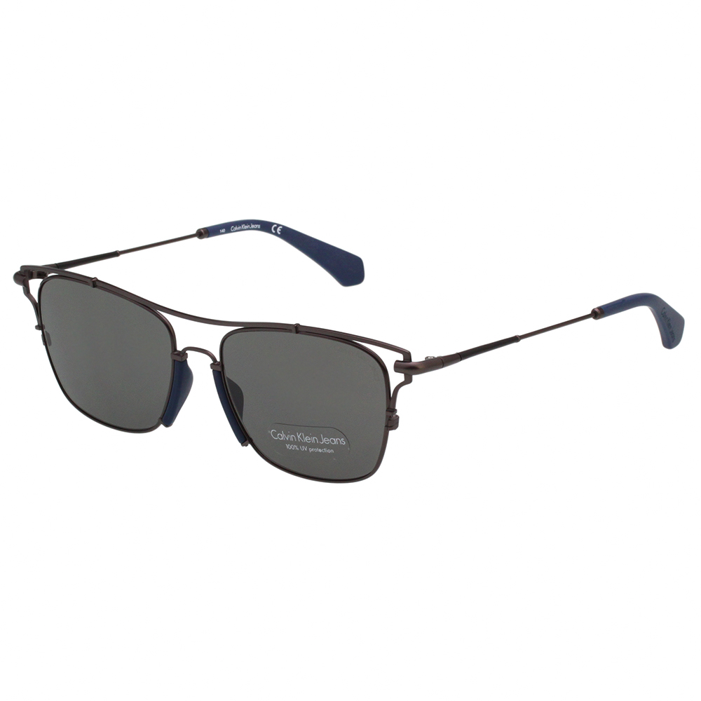 Calvin Klein- 造型 太陽眼鏡(槍色)CKJ166S-008