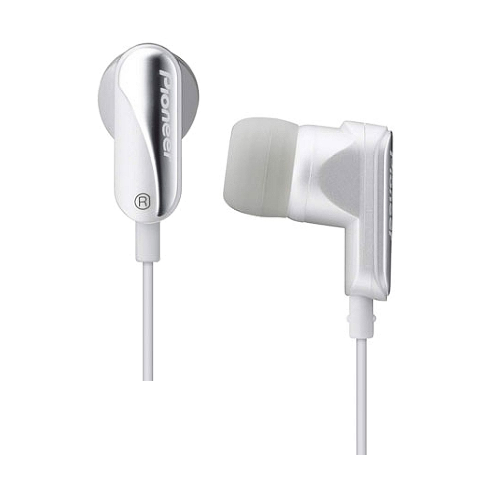 [本月下殺]Pioneer珍珠白內耳式耳機(SE-CL21W-J-H)