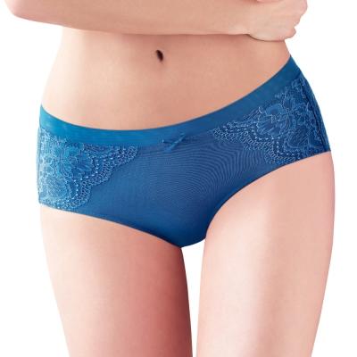 黛安芬-逆齡Bra配褲-M-EL平口內褲-浩瀚湛藍