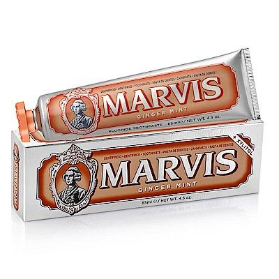 MARVIS 生薑薄荷牙膏 橙色85ml-快速到貨