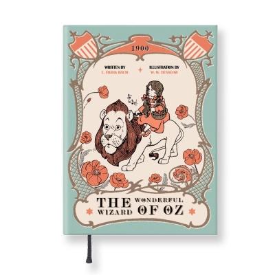 7321 Design - Lovely經典童話條紋精裝本-桃樂絲與獅子