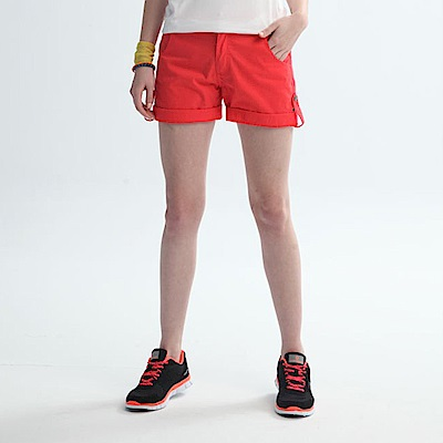【TOP GIRL】休閒時尚短褲-中橘