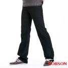 【BOBSON】男款雙色平絨直筒褲(黑53)