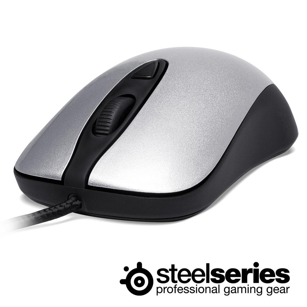 SteelSeries Kinzu V2 PRO 電競光學滑鼠(珠光銀)