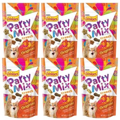 Friskies喜躍 Party Mix經典原味香酥餅 60g x 6包入