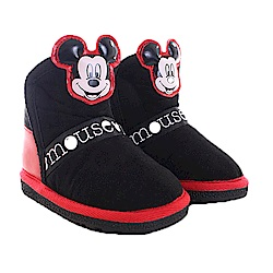 迪士尼米奇魔鬼貼短靴 黑 sh0012 魔法Baby