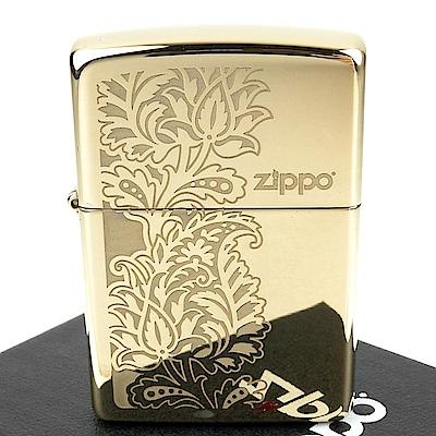 ZIPPO 美系~Paisley Design-佩斯利花紋圖案設計打火機