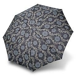 RAINSTORY華麗圖騰抗UV省力自動傘(灰)