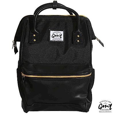 GMT挪威潮流品牌 大開口雙面料後背包 (多色可選)