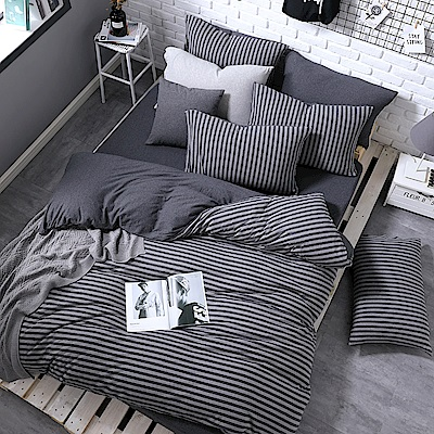 OLIVIA  天竺棉  光現  加大雙人床包枕套三件組
