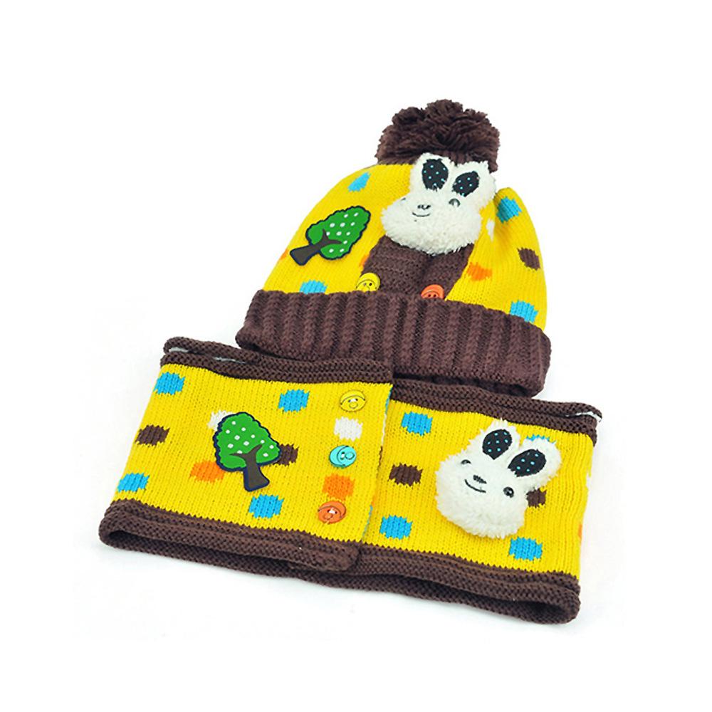 【iSFun】圓點兔兔*兒童護耳帽+圍巾組/四色