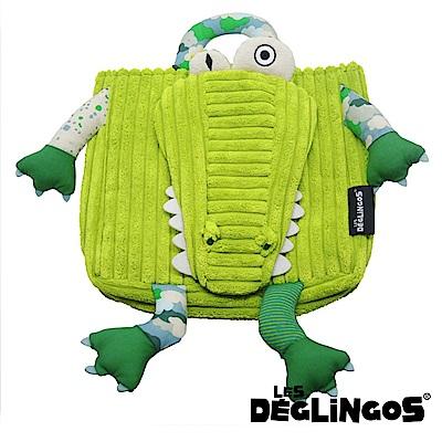 Les Deglingos 立體玩偶背包(兒童背包)-鱷魚 (ALIGATOS)