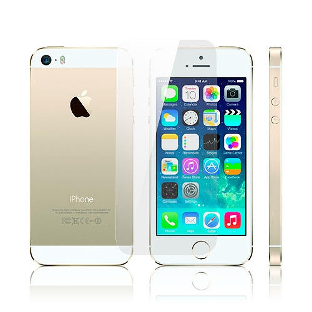 D&A 蘋果 iPhone 5S/SE 專用日本AAA頂級HC螢幕保護貼(AS疏油疏水單片入)
