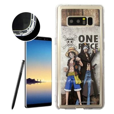 航海王夥伴系列 Samsung Galaxy Note8 空壓殼(魯夫&...