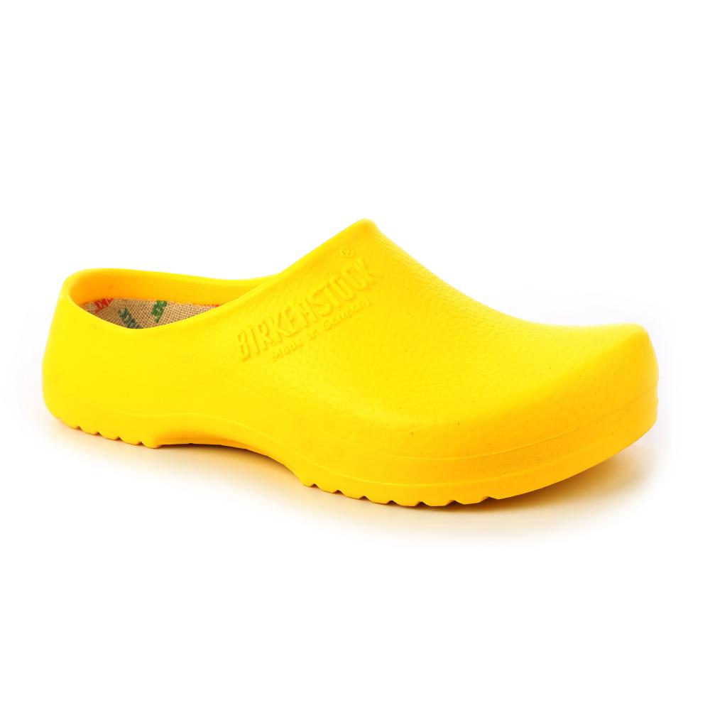 勃肯Birkenstock068041。SUPER BIRKIM園藝鞋/工作鞋-黃