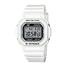 G-SHOCK 卡西歐限量 海灘派對電波休閒錶(GW-M5610MW-7)-白